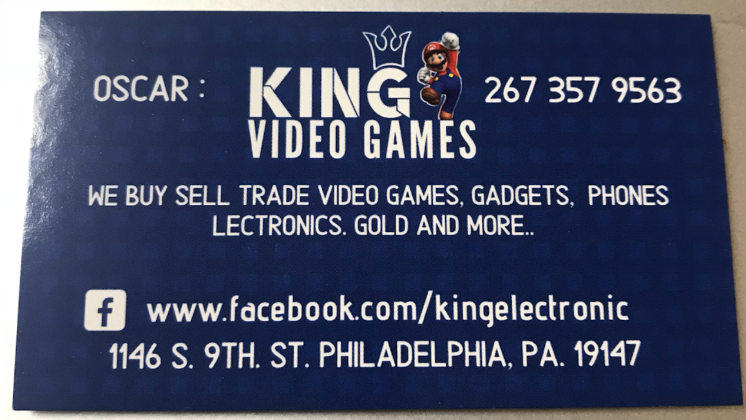king video games - Video Game Store in philadelphia
