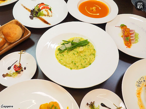卡沛諾義法料理,草悟道附近的家庭餐館,平易近人的價位享受香港五星級大廚20年淬鍊的好手藝!