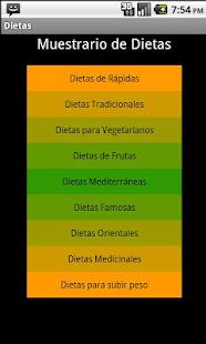 Dietas para Perdida de Peso - Apps on Google Play
