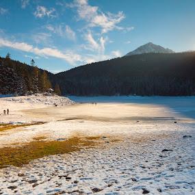 Zabljak by Daniel Pavlinović - Landscapes Mountains & Hills ( montenegro, mountain, snow, zabljak, pwcsunbeams-dq, sun )