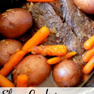 Slow Cooker Pot Roast Without Onion Soup Mix Recipes.