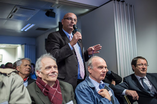 Club Les Echos Débats avec Pierre BELLON, Fondateur et Président du conseil d'administration du groupe Sodexo