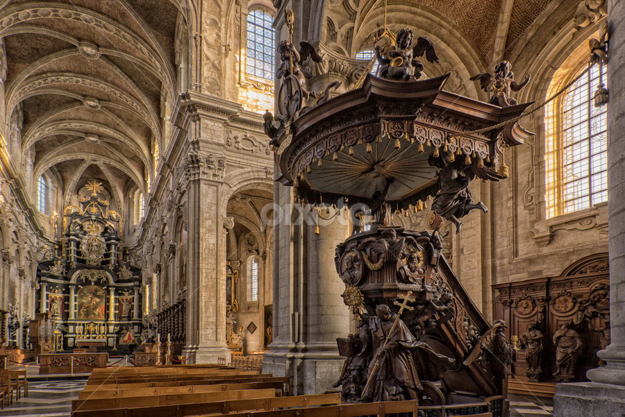 sermon stall by Ghislain Vancampenhoudt - Buildings & Architecture Places of Worship