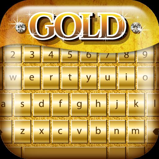 個人化App|短信 键盘 金 颜色 LOGO-3C達人阿輝的APP