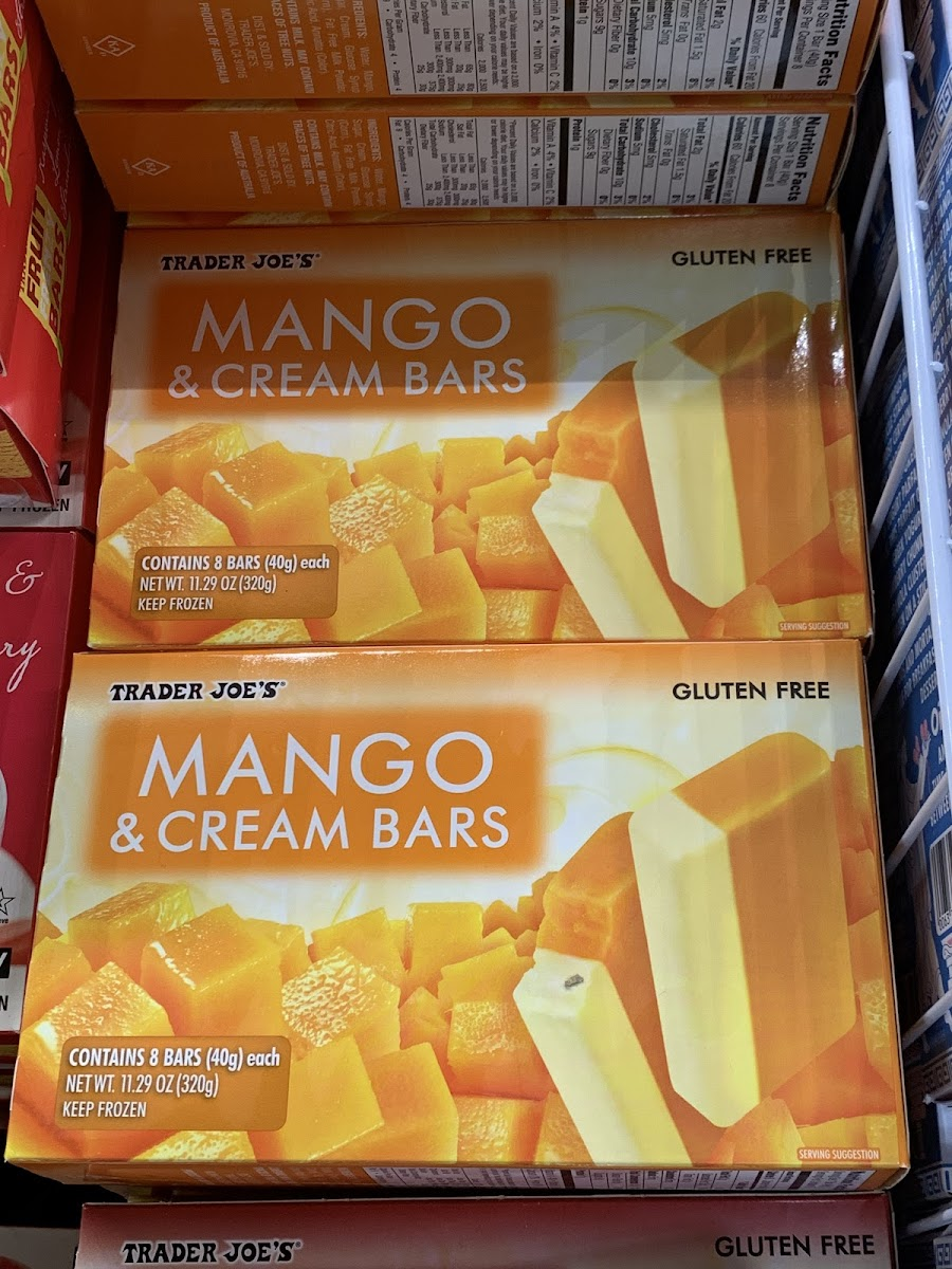 Mango & Cream Bars