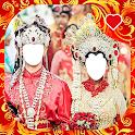 Traditional Wedding Couple Photo Frames icon