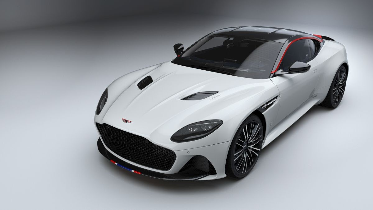 Aston Martin DBS Superleggera Concorde Special Edition - only 10 will be made