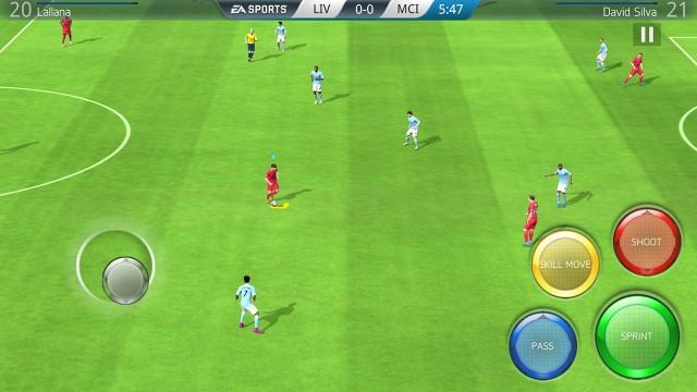 Screenshots of FIFA 16 Soccer for iPhone