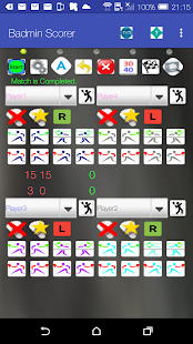 Badminton Match/Stats Scorer- screenshot thumbnail
