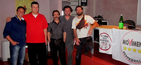 Photo: settimana DD - Modena - 30 maggio 2011 Alla mia destra Paolo Michelotto ed alla mia sinistra Werter Danielli e Gabriele Grotti http://www.youtube.com/watch?v=7EFy5Zw7Wc0