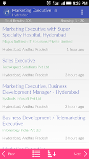 Jobs in Telangana- screenshot thumbnail