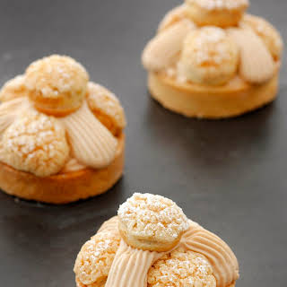 Mini Hazelnut Caramel Tart.