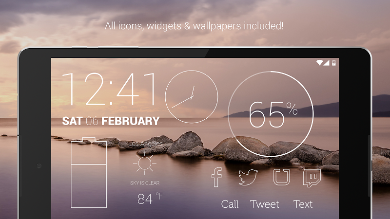 Lines - Icon Pack (Pro Version) Screenshot 9