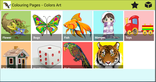 Colouring Pages - Colors's Art