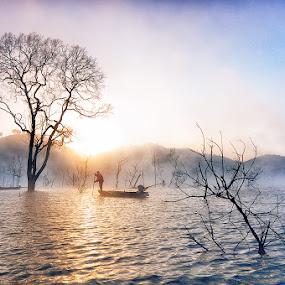 Nam Ka by Huynh Phuc Hau - Landscapes Sunsets & Sunrises