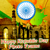Happy Republic Day PhotoFrame