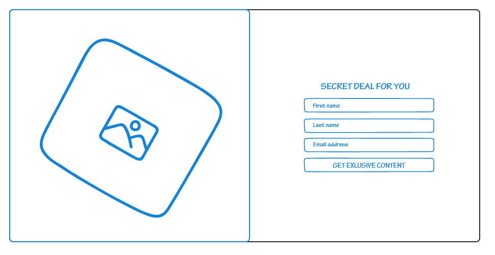Secret deal newsletter sign-up