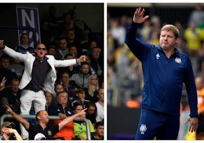 """Le Fan Board d'Anderlecht répond à Vanhaezebrouck : """"Ce qu'il dit est hors-proportions"""""""