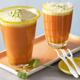 Spicy Carrot Juice.