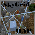 Map SkyGrid For Minecraft PE