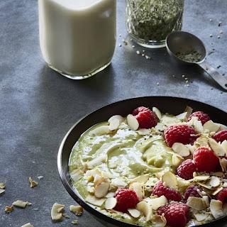 Probiotic Matcha Green Smoothie Bowl Recipe
