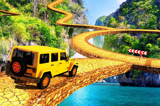 Offroad Jeep Driving Simulator : Impossible tracks screenshot 1