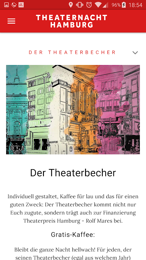 Theaternacht Hamburg- screenshot