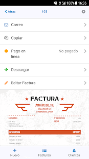 Factura App: Crear Facturas Facil Screenshot