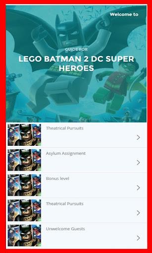 Guide for LEGO Batman