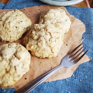 Gluten-Free Biscuits and Mushroom Gravy