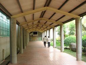 Photo: 抬午餐的走廊