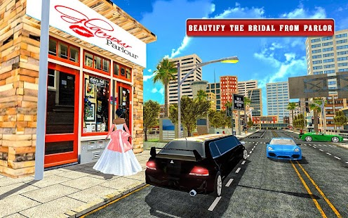 Luxury Wedding Car Driving – Bridal Limo Sim 2017 - náhled
