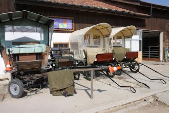 Photo: Une partie de nos chars / Ein Teil des Wagenparkes