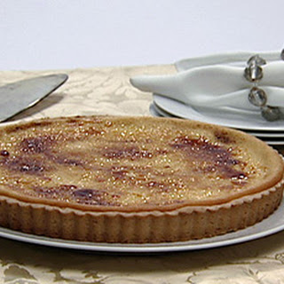Lemon Pineapple Brulee Tart