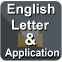 English Letter and Aplication Easy way to Writing icon