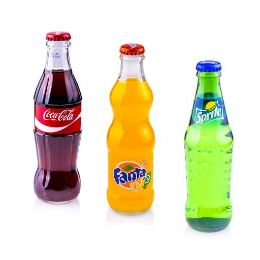 Glass Bottled Soft Drinks