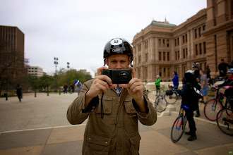 Photo: We rode from the space where the bike and tech meet in the Create tent to scenic locations around Austin. Then back for a Rapha reception with beer, apps, and marvelous talks about the photos taken during the ride from mobile photographers, like +Dan Rubin, +Pei Ketron, and Jeremy Dunn. Also shooting with us on assignment,  +David Schloss.
