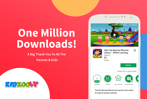 Kids Top Nursery Rhymes Videos - Offline Learning FiveLittle_v4.7 1