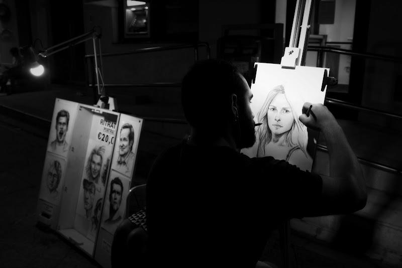 Artista di strada.! di domenico militello photography