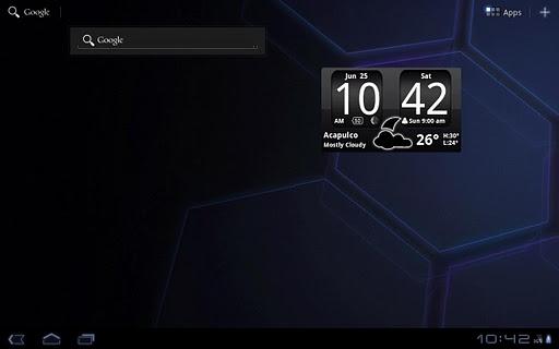 FlipClock BlackOut Widget 4x2 screenshot 7