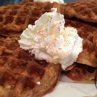Mini Vanilla PROTEIN Waffles