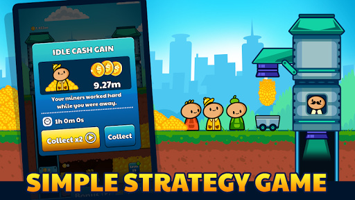 Gold Mine Idle Clicker: Mining Gold Game. Tycoon 1.2.2 screenshots 1