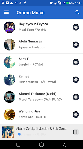 Oromo Music - Download and Stream 4.0.0 screenshots 2