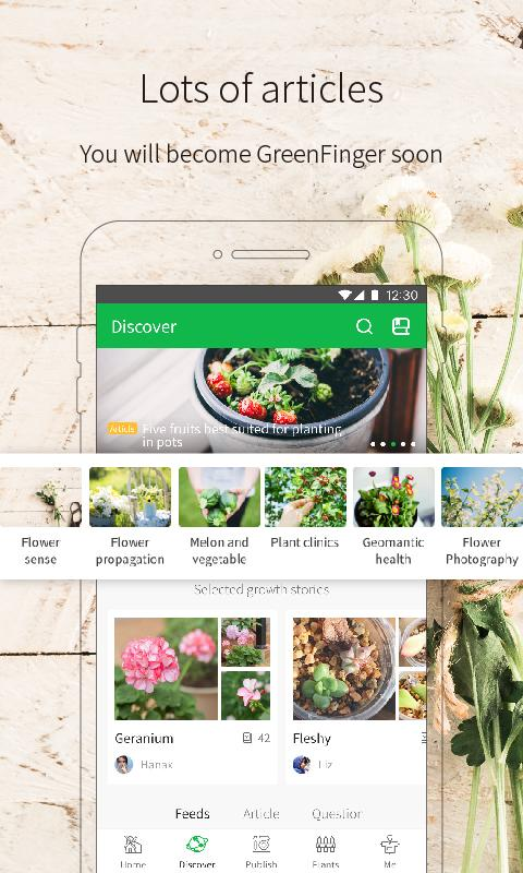 Green Fingers succulent plant gardening and Diary- screenshot