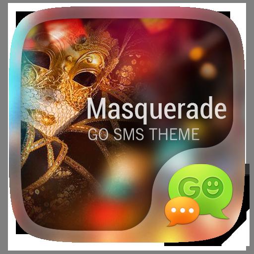 GO SMS PRO MASQUERADE THEME 個人化 App LOGO-硬是要APP