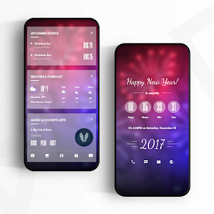 CountdownHome for KLWP - náhled
