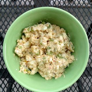 Mayo-Free Egg Salad Wraps.