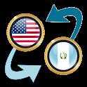 US Dollar x Guatemalan Quetzal icon