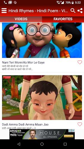 Kids Top Hindi Nursery Rhymes Balgeet Videos Apk