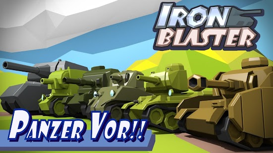 IronBlaster : Online Tank Battle Screenshot